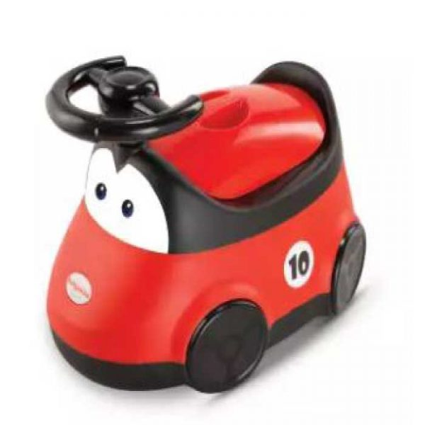 Car-Baby-Potty-Red-(Brand-Akij-Plastics)