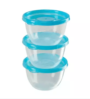 Freshia Round Mini Container 3 Pcs set (Brand-Akij Plastics)