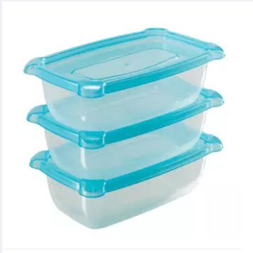 Freshia mini rectangle container 3 piece set (Brand-Akij Plastics)