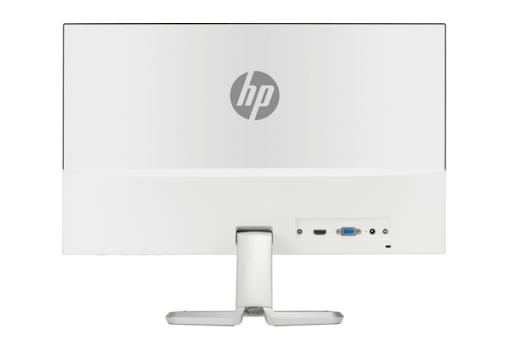 HP 22fw IPS Anti-Glare Full-HD 21.5 Inch Monitor (1xVGA, 1xHDMI Port) (White Backside) #3KS60AA (Bundle with PC)