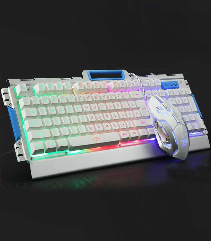 K33 Wired LED Keyboard Metal