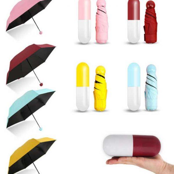 Mini-Folding-Umbrella-with-Cute-Capsule-Case